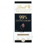 Шоколад Lindt Lindor, горький,  99% какао