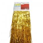 Дождик Tarrington House матовый золотой, 50см, 400шт, 325871