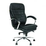 Кресло руководителя Chairman 795 нат. кожа, крестовина хром, черное