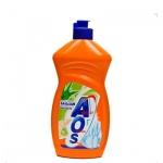 Средство для мытья посуды Aos 0.5л, алоэ вера, бальзам
