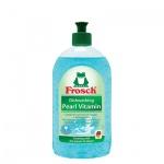 Средство для мытья посуды Frosch 0.5л, витамины для рук