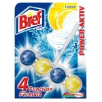 Освежитель для унитаза Bref Сила-актив лимон, 51г, подвесной блок