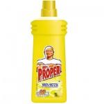 Средство для мытья пола и стен Mr Proper 750мл, лимон, жидкость