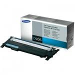 Тонер-картридж Samsung CLT-C406S/SEE, голубой