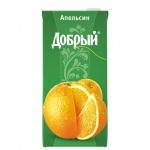 Сок Добрый, 2л, апельсин