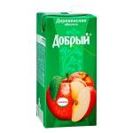 Сок Добрый, 2л, деревенские яблочки