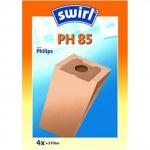 Пылесборник для пылесосов Swirl PH 85 4 шт + воздушный фильтр
