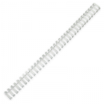 Пружины для переплета металлические Profioffice, на 1-30 листов, 6.4мм, 100шт, серебристые