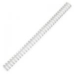 Пружины для переплета металлические Profioffice белые, на 10-50 листов, 8мм, 100шт, 70921