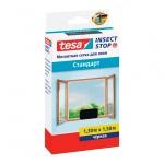 Москитная сетка Tesa Tesa Stop Standard черная, 1.3 х 1.5м, для окон