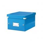 Архивный короб Leitz Click & Store-Wow, A5, 220x160x282 мм, синий