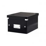 Архивный короб Leitz Click & Store-Wow, A5, 220x160x282 мм, черный