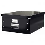 Архивный короб Leitz Click & Store-Wow, A3, 369x200x482 мм, черный