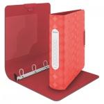 Папка-панорама на 4-х кольцах А4 Leitz Retro Chic красная, 30 мм, 42560020