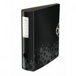 Папка-регистратор А4 Leitz 180° Active Bebop черная, 75 мм, 10470095