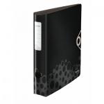 Папка-регистратор А4 Leitz 180° Active Bebop черная, 50мм, 10480095