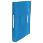 Папка-органайзер Esselte Vivida синяя, А4, 6 разделов, 624015