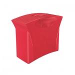 Контейнер для подвесных папок Esselte Europost Vivida красный, А4, до 15 папок
