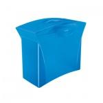 Контейнер для подвесных папок Esselte Europost Vivida синий, А4, до 15 папок