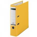 Папка-регистратор А4 Leitz желтая, 80 мм, 10101215