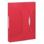 Архивный бокс Esselte Vivida красный, А4, 40 мм, 624048