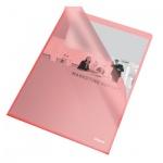 Папка-уголок Esselte красная, A4, 110мкм, 25 шт/уп, 60833