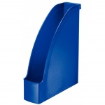 Накопитель вертикальный для бумаг Leitz Plus А4, 78мм, синий, 24760035