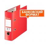 Папка-регистратор Esselte №1 Power банковский формат, 75 мм, красная