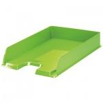 Лоток горизонтальный для бумаг Esselte Vivida Europost А4, зеленый
