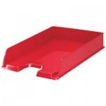 Лоток горизонтальный для бумаг Esselte Vivida Europost А4, красный