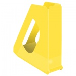 Накопитель вертикальный для бумаг Esselte Europost Vivida А4, 72мм, желтый