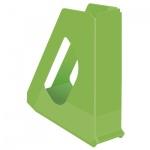 Накопитель вертикальный для бумаг Esselte Europost Vivida А4, 72мм, зеленый, 623938