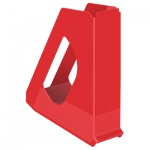Накопитель вертикальный для бумаг Esselte Europost Vivida А4, 72мм, красный