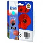 Картридж струйный Epson C13 T17024 A10, голубой