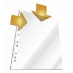 Файл-вкладыш А4 Durable матовый, 45 мкм, 10 шт/уп, 2663-19