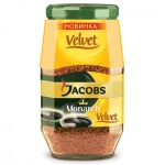 Кофе растворимый Jacobs Monarch Velvet 95г, стекло