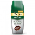 Кофе растворимый Jacobs Monarch Millicano 95г, стекло