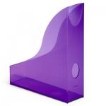 Накопитель вертикальный для бумаг Durable Rack Basic А4, 306мм, фиолетовый