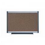 Доска пробковая Bi-Office PVI031101, коричневая, алюминиевая рама, 90х120см