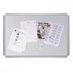 Доска информационная Bi-Office CA0312830 60х90см, белая, пробковая/ магнитная, алюминиевая рама, 60х90см
