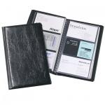 Визитница Durable Visifix на 72 визитки, черная, 195x115мм, ПВХ, 2400-01