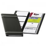 Визитница Durable Visifix на 96 визиток., антрацит, 89x56мм, ПВХ, 8581-58