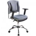 Кресло офисное Бюрократ CH-H323AXSN ткань, крестовина хром, серое