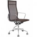 Кресло руководителя Бюрократ CH-996 коричневое