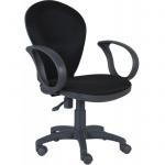 Кресло офисное Бюрократ CH-G687AXSN ткань, черная, крестовина пластик, серая, черное