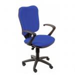 Кресло офисное Бюрократ CH-540AXSN ткань, крестовина пластик, синее