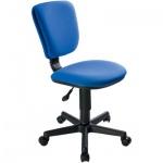 Кресло офисное Бюрократ CH-204NX ткань, синяя, крестовина пластик