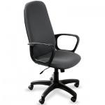 Кресло руководителя Бюрократ CH-808AXSN ткань, крестовина пластик, серое
