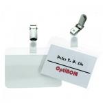 Бейдж на зажиме Durable 54х90мм, самоламинирующийся, 50 шт/уп, 8102-19