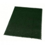 Коврик придверный Optima Травка 57х38см, зеленый
